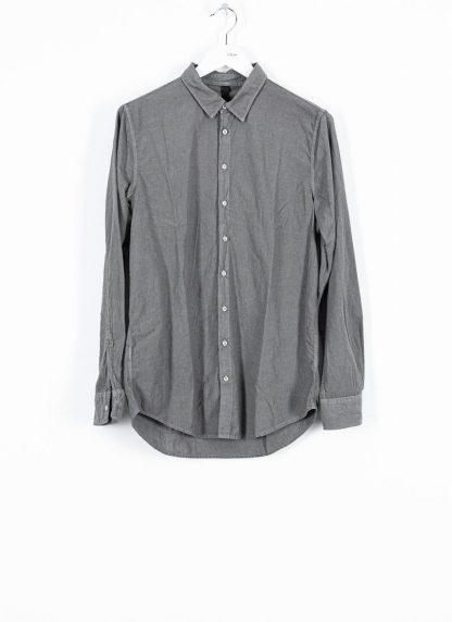 POEME BOHEMIEN fw1920 men button down shirt hemd regular fit SH 01 T602 70 cotton medium grey hide m 2