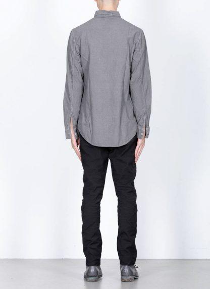 POEME BOHEMIEN fw1920 men button down shirt hemd regular fit SH 01 T602 70 cotton medium grey hide m 5