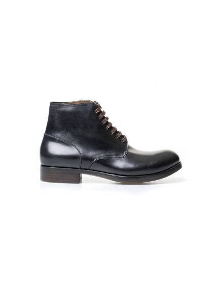 m moriabc maurizio altieri AA Dve goodyear hand welt men shoe boot herren schuh stiefel shell cordovan leather black hide m 2