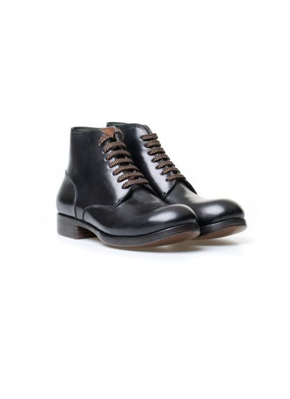 m moriabc maurizio altieri AA Dve goodyear hand welt men shoe boot herren schuh stiefel shell cordovan leather black hide m 4