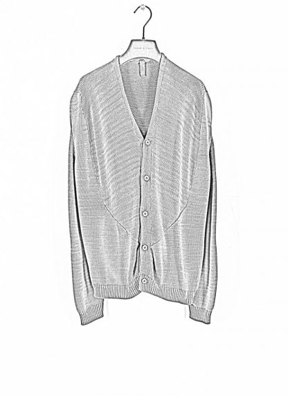 ANDREA CORTELLA Women Cardigan With Back Turned Up Front MC1CSS20 cotton lavender hide m 1
