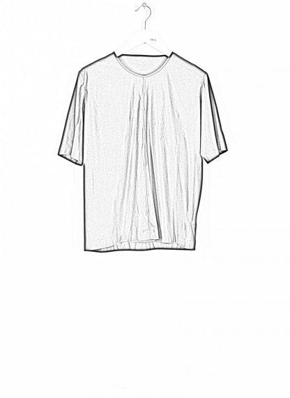 ANDREA CORTELLA women cylinder t shirt T1CSS20 damen top cotton blue black hide m 1