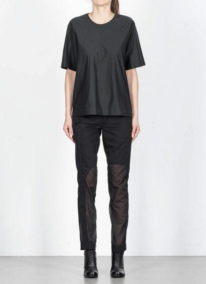ANDREA CORTELLA women cylinder t shirt T1CSS20 damen top cotton blue black hide m 3