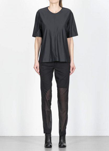 ANDREA CORTELLA women cylinder t shirt T1CSS20 damen top cotton green black hide m 3