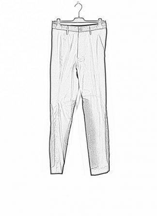 ANDREA CORTELLA women pants full and empty P2CSS20 cotton black hide m 1