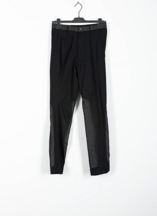 ANDREA CORTELLA women pants full and empty P2CSS20 cotton black hide m 2