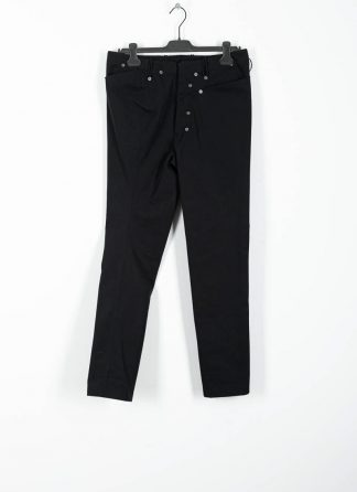 ANDREA CORTELLA women pants with divergent joints damen hose P3CSS20 cotton black hide m 2
