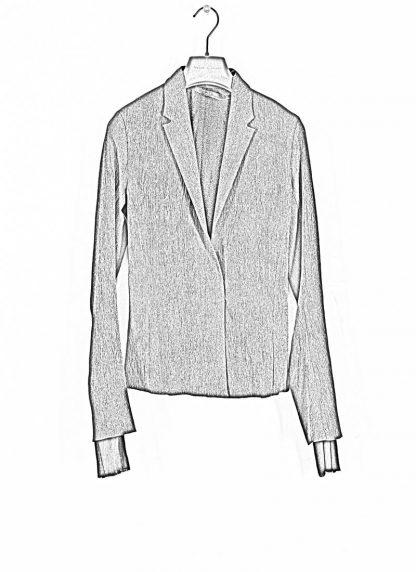 M.Across MAURIZIO AMADEI women Short Jacket Damen Jacke Blazer JW182 EVR viscose eme coal hide m 1