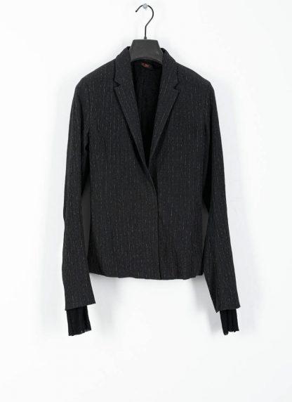 M.Across MAURIZIO AMADEI women Short Jacket Damen Jacke Blazer JW182 EVR viscose eme coal hide m 2