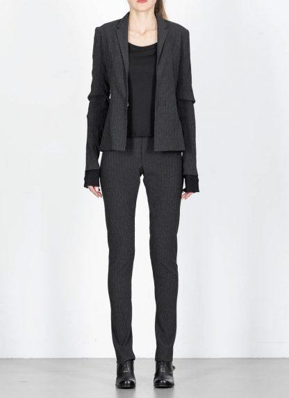 M.Across MAURIZIO AMADEI women Short Jacket Damen Jacke Blazer JW182 EVR viscose eme coal hide m 3
