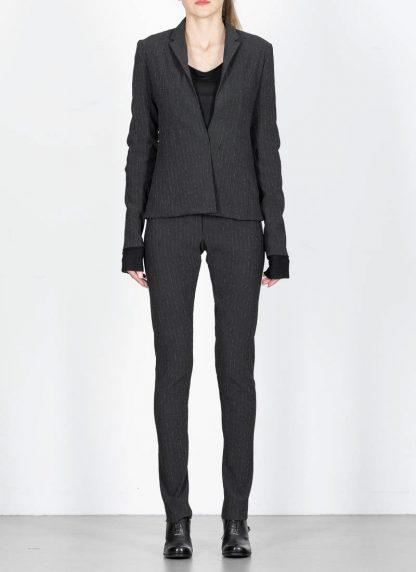 M.Across MAURIZIO AMADEI women Short Jacket Damen Jacke Blazer JW182 EVR viscose eme coal hide m 4