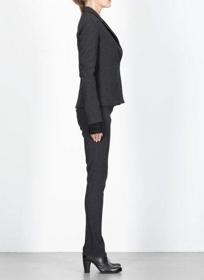 M.Across MAURIZIO AMADEI women Short Jacket Damen Jacke Blazer JW182 EVR viscose eme coal hide m 5