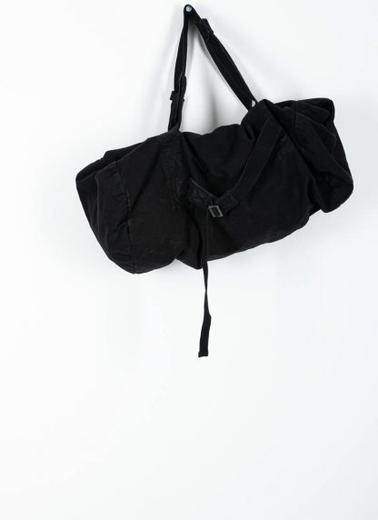 BORIS BIDJAN SABERI bag INFANTERY BAG1 F1944 cotton black hide m 2