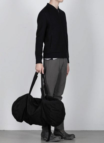 BORIS BIDJAN SABERI bag INFANTERY BAG1 F1944 cotton black hide m 4