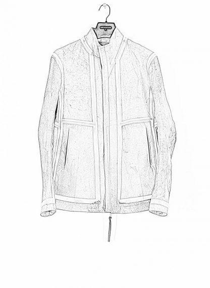 BORIS BIDJAN SABERI ss20 J1 men jacket herren jacke reversible FMM20041 natural tan kangaroo leather light grey hide m 1