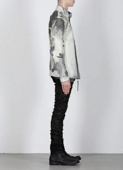 BORIS BIDJAN SABERI ss20 J1 men jacket herren jacke reversible FMM20041 natural tan kangaroo leather light grey hide m 11