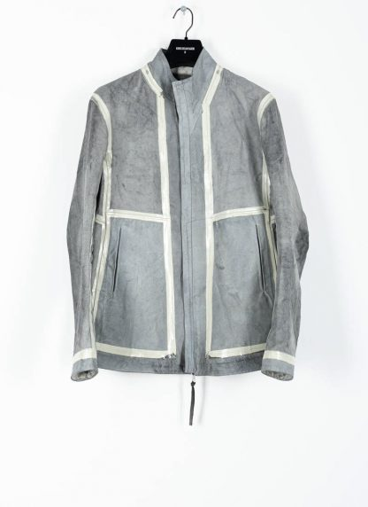 BORIS BIDJAN SABERI ss20 J1 men jacket herren jacke reversible FMM20041 natural tan kangaroo leather light grey hide m 2