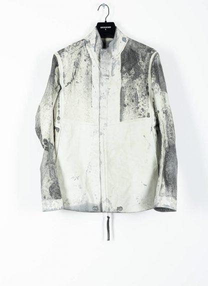 BORIS BIDJAN SABERI ss20 J1 men jacket herren jacke reversible FMM20041 natural tan kangaroo leather light grey hide m 4