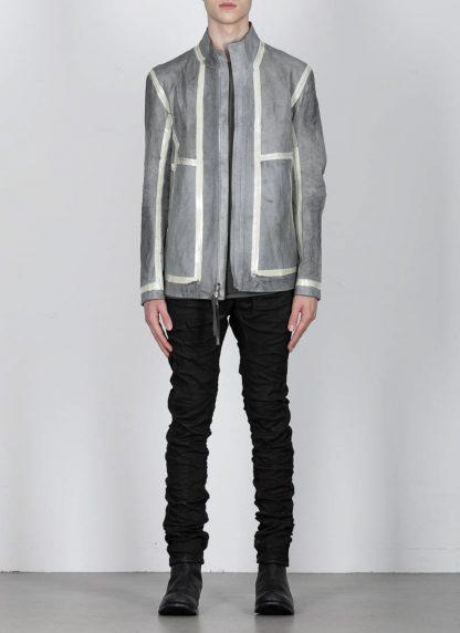 BORIS BIDJAN SABERI ss20 J1 men jacket herren jacke reversible FMM20041 natural tan kangaroo leather light grey hide m 5