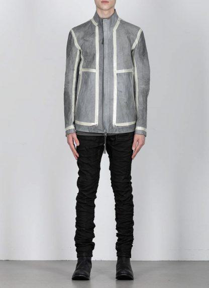 BORIS BIDJAN SABERI ss20 J1 men jacket herren jacke reversible FMM20041 natural tan kangaroo leather light grey hide m 6