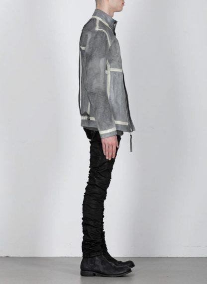 BORIS BIDJAN SABERI ss20 J1 men jacket herren jacke reversible FMM20041 natural tan kangaroo leather light grey hide m 7