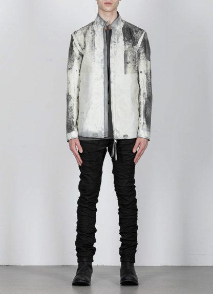 BORIS BIDJAN SABERI ss20 J1 men jacket herren jacke reversible FMM20041 natural tan kangaroo leather light grey hide m 9