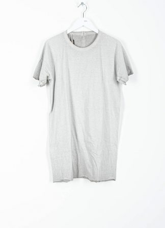 BORIS BIDJAN SABERI ss20 ONE PIECE TS RF SEAM TAPED men tshirt herren t shirt F035 cotton faded light grey hide m 2