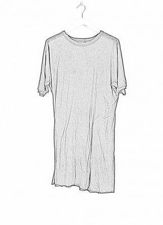 BORIS BIDJAN SABERI ss20 ONE PIECE TS RF men tshirt herren t shirt FTT1000001 cotton cashmere black hide m 1