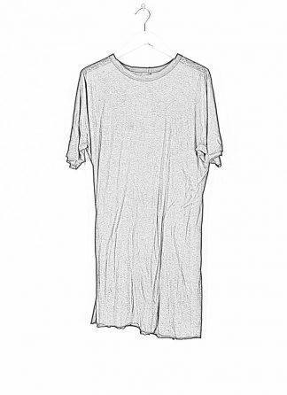 BORIS BIDJAN SABERI ss20 ONE PIECE TS RF men tshirt herren t shirt FTT1000001 cotton cashmere black hide m 1