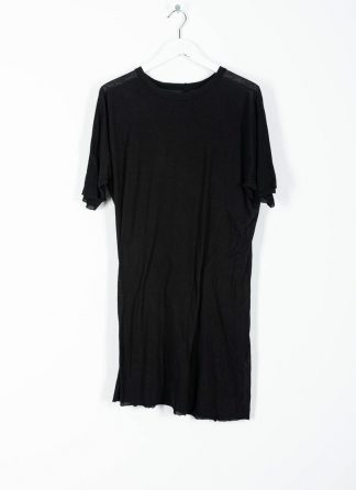 BORIS BIDJAN SABERI ss20 ONE PIECE TS RF men tshirt herren t shirt FTT1000001 cotton cashmere black hide m 2