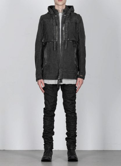 BORIS BIDJAN SABERI ss20 PARKA2 men jacket herren jacke F1502F W cotton dark grey hide m 4