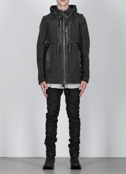 BORIS BIDJAN SABERI ss20 PARKA2 men jacket herren jacke F1502F W cotton dark grey hide m 5