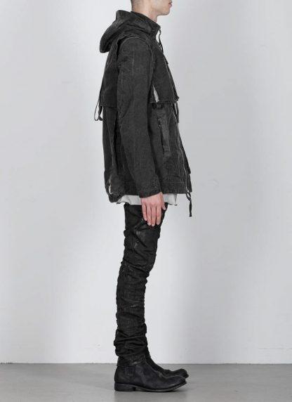 BORIS BIDJAN SABERI ss20 PARKA2 men jacket herren jacke F1502F W cotton dark grey hide m 6