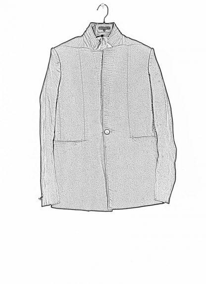 BORIS BIDJAN SABERI ss20 SUIT1 men suit blazer jacket herren jacke F1401M cotton black hide m 1