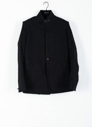 BORIS BIDJAN SABERI ss20 SUIT1 men suit blazer jacket herren jacke F1401M cotton black hide m 2