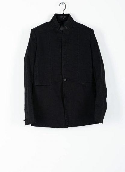 BORIS BIDJAN SABERI ss20 SUIT1 men suit blazer jacket herren jacke F1401M cotton black hide m 2