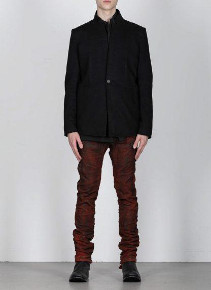 BORIS BIDJAN SABERI ss20 SUIT1 men suit blazer jacket herren jacke F1401M cotton black hide m 4