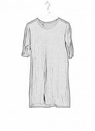 BORIS BIDJAN SABERI ss20 TS1 TF men tshirt herren t shirt FTT1000001 cotton cashmere black hide m 1