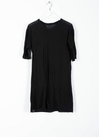 BORIS BIDJAN SABERI ss20 TS1 TF men tshirt herren t shirt FTT1000001 cotton cashmere black hide m 2