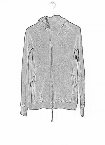 BORIS BIDJAN SABERI ss20 ZIPPER2 men zipper jacket herren jacke F0503M cotton black hide m 1