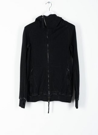 BORIS BIDJAN SABERI ss20 ZIPPER2 men zipper jacket herren jacke F0503M cotton black hide m 2