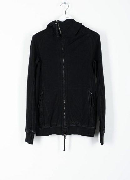 BORIS BIDJAN SABERI ss20 ZIPPER2 men zipper jacket herren jacke F0503M cotton black hide m 2