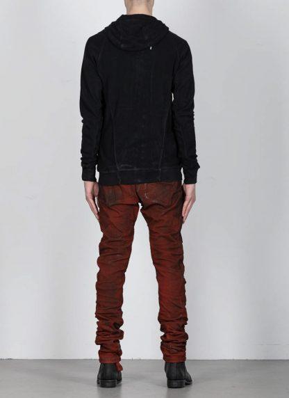 BORIS BIDJAN SABERI ss20 ZIPPER2 men zipper jacket herren jacke F0503M cotton black hide m 6