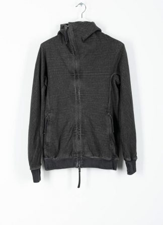 BORIS BIDJAN SABERI ss20 ZIPPER2 men zipper jacket herren jacke F0603M cotton dark grey hide m 2