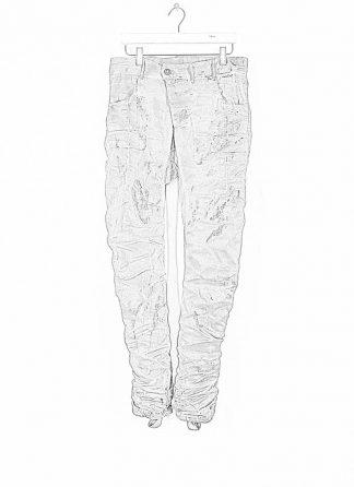 BORIS BIDJAN SABERI ss20 men pants P13TF herren hose jeans F177 cotton ly light hide m 1
