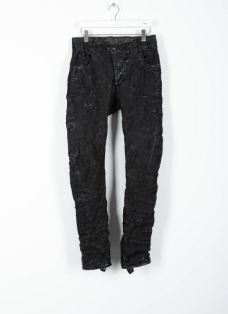 BORIS BIDJAN SABERI ss20 men pants P13TF herren hose jeans F177 cotton ly used black hide m 2