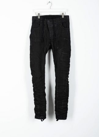 BORIS BIDJAN SABERI ss20 men pants P13TF herren hose jeans F1939 cotton ly black hide m 2