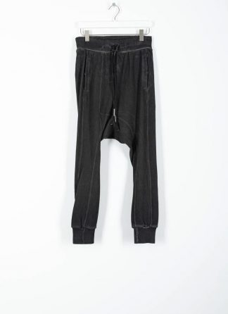 BORIS BIDJAN SABERI ss20 men pants jogger LONGJOHN2 herren hose F0406C cotton ly dark grey hide m 2