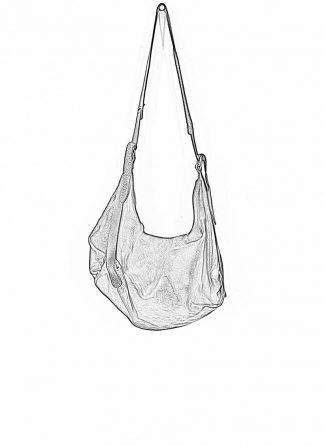 GUIDI Q15 Large Cross Body Shoulder Bag Tasche soft horse full grain leather black hide m 1