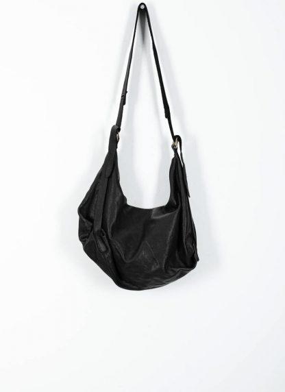GUIDI Q15 Large Cross Body Shoulder Bag Tasche soft horse full grain leather black hide m 2